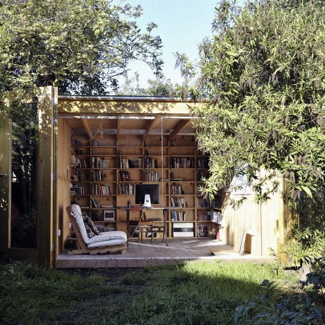 Garden ideas and projects for thinking spaces for Garden office and shed