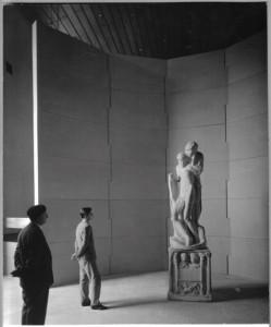 1954-56, Pietà Rondanini di Michelangelo, Sala degli Scarglioni, Castello Sforzesco, Milano