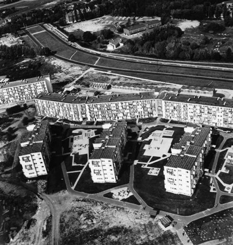 Abitazioni a Lublino, Polonia, 1960-1966.